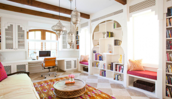 moroccan-living-room-with-desk-area-and-window-seating